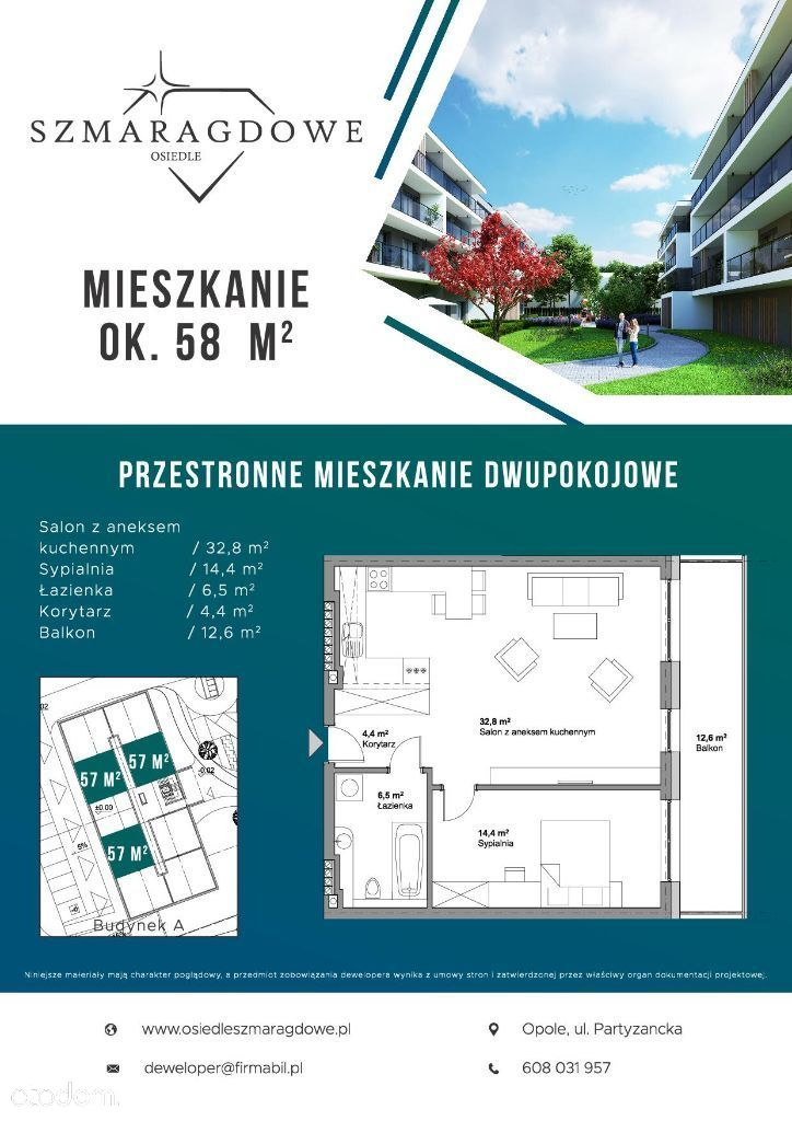 Inwestycja deweloperska, Opole, Półwieś - Foto 12