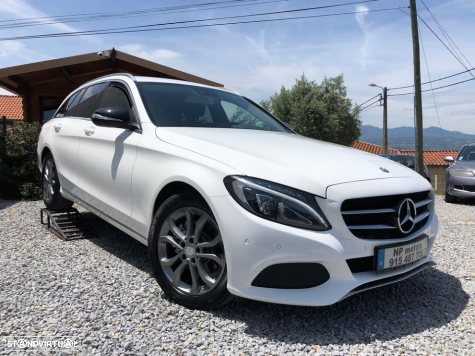 Mercedes-Benz C 220 d Avantgarde Bluetec + Full Led + Gps Comand Online - 1