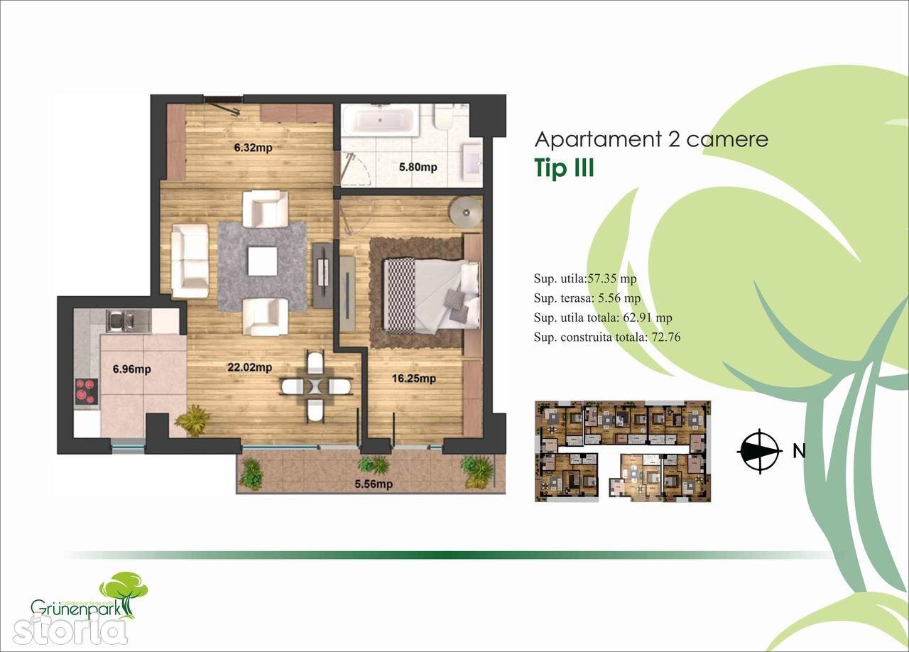 Apartament de vanzare, București (judet), Drumul Valea Furcii - Foto 3