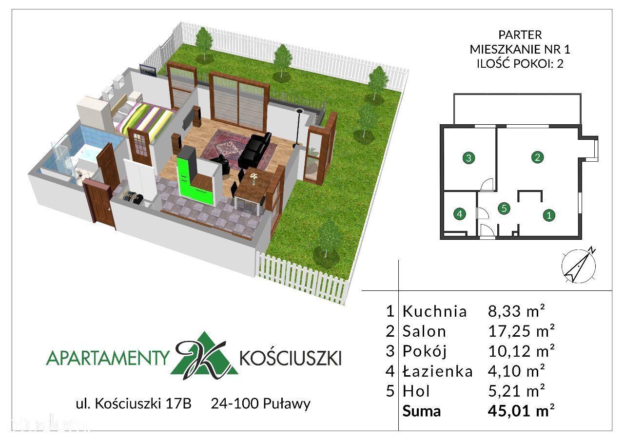 Mieszkanie na sprzedaż, Puławy, puławski, lubelskie - Foto 1002