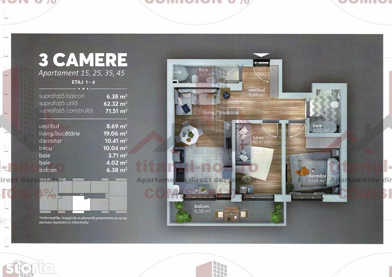 Apartament de vanzare, București (judet), Drumul Gura Putnei - Foto 1
