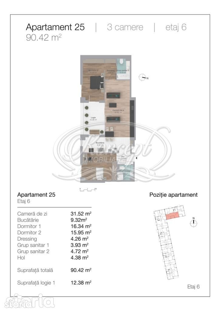 Apartament de vanzare, Cluj-Napoca, Cluj, Gheorgheni - Foto 18