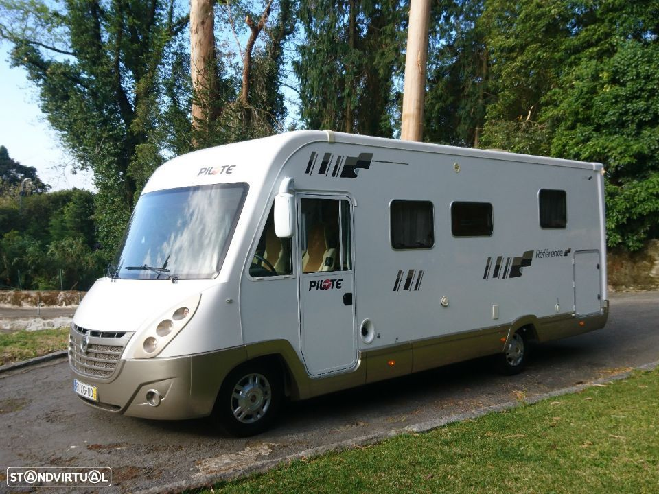 Pilote Reference G 741  CAMA CENTRAL  CHASSI ALKO - 1