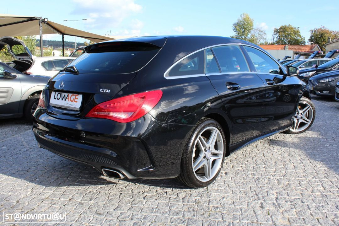 Mercedes-Benz CLA 220 CDI Shooting Break AMG Auto - 7