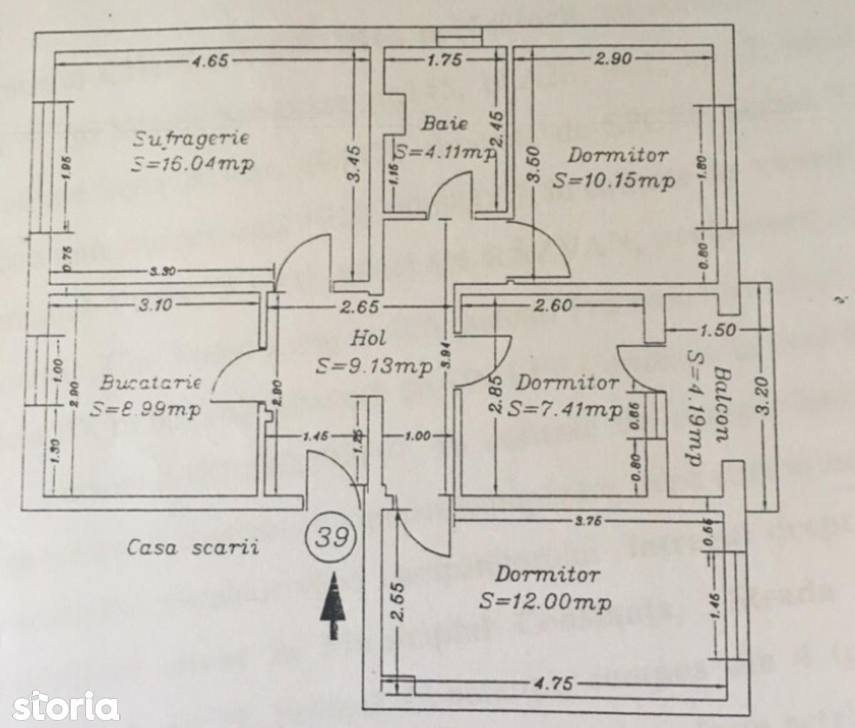 Apartament de vanzare, Constanța (judet), Strada Sălciilor - Foto 7