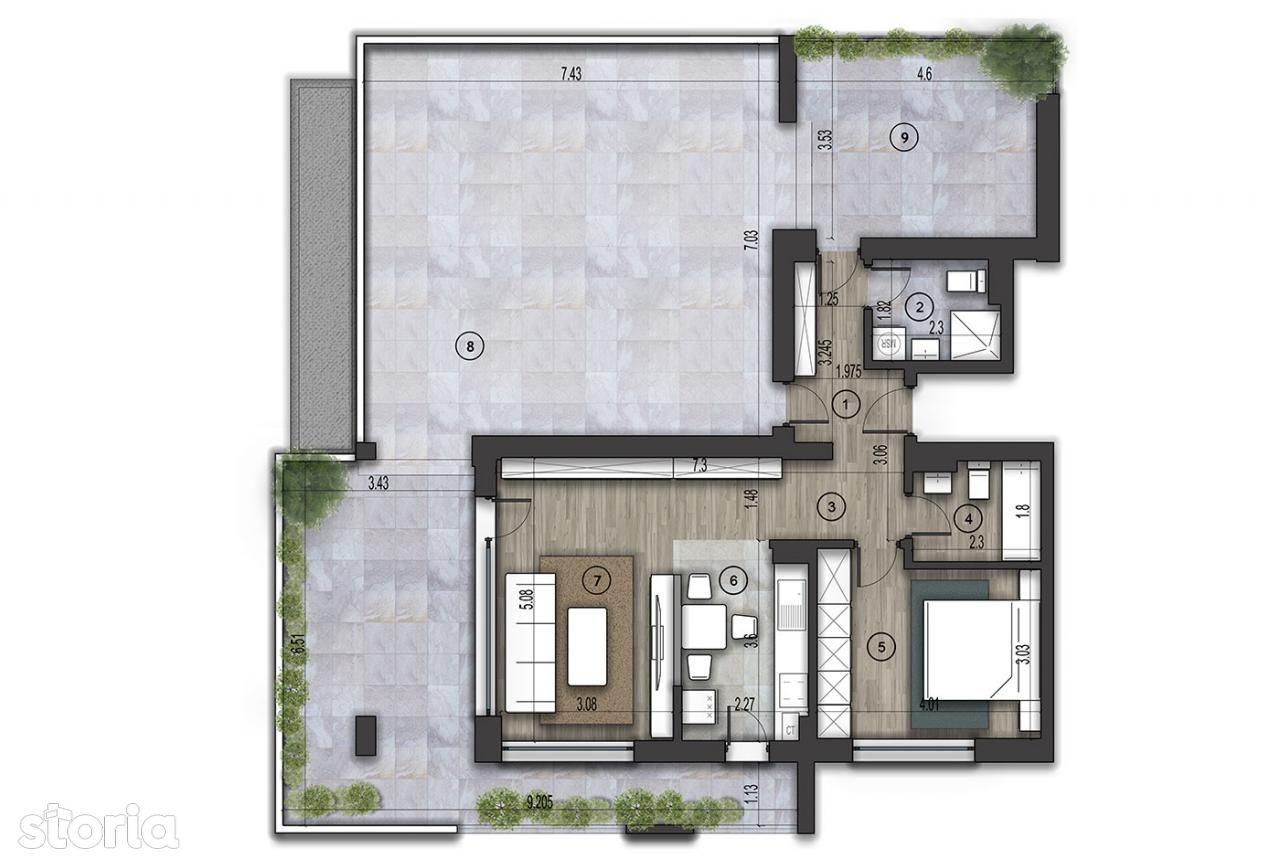 Apartament de vanzare, București (judet), Strada Mărtișor - Foto 1