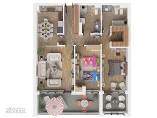 Apartament 3 camere Isaran Residence Brasov - 98.35 mp util + terasa