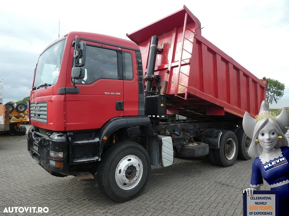 MAN 40.390 6X4 FULL STEEL 17M3 - 1