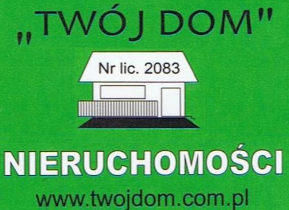 """Nieruchomości """"Mój Dom""""    Łukasz Wiśniewski"""