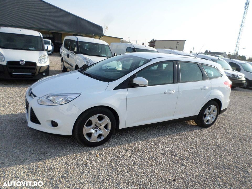 Ford Focus SW 1.6 TDCI 115PS +beck-seats (N1) Net 5779 - 1
