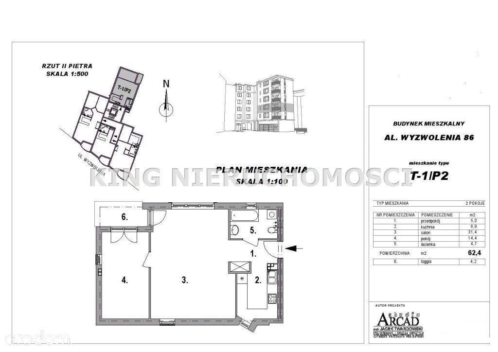 Mieszkanie na sprzedaż, Szczecin, Niebuszewo - Foto 4