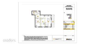 Mieszkanie trzy pokojowe 59,73 m2