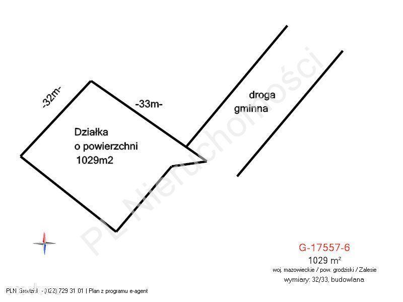 Działka na sprzedaż, Zalesie, grodziski, mazowieckie - Foto 1