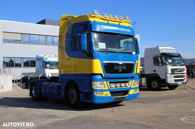 MAN TGX 18.440 BLS+MANUAL+INTARDER+HYDR. - 2
