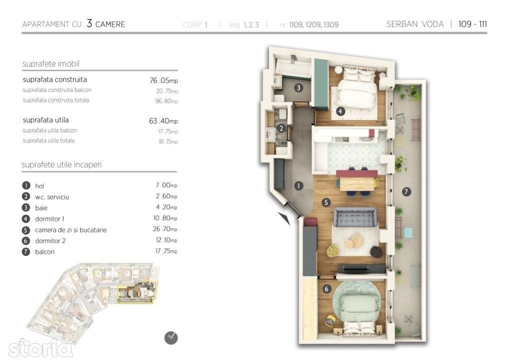 Apartament de vanzare, Bucuresti, Sectorul 4, Cantemir - Foto 5