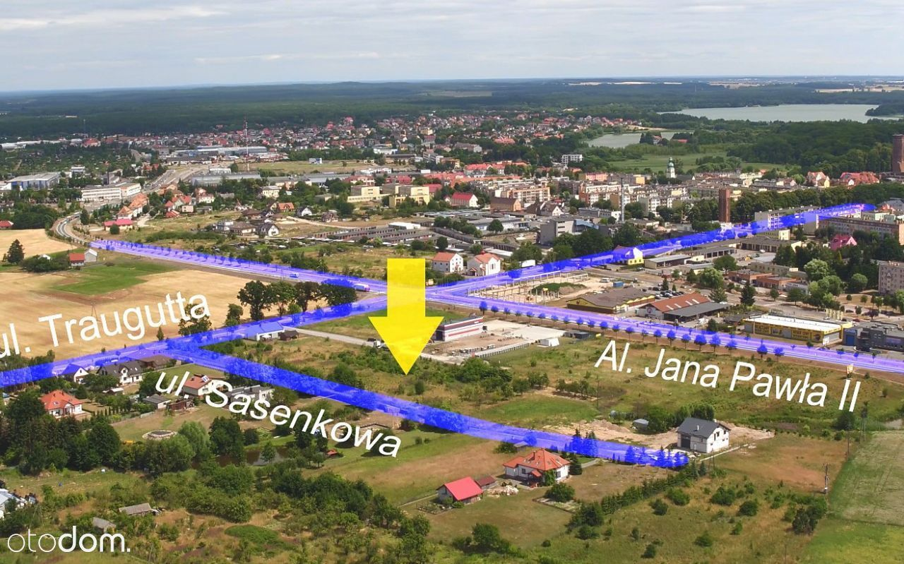 Działka na sprzedaż, Człuchów, człuchowski, pomorskie - Foto 5