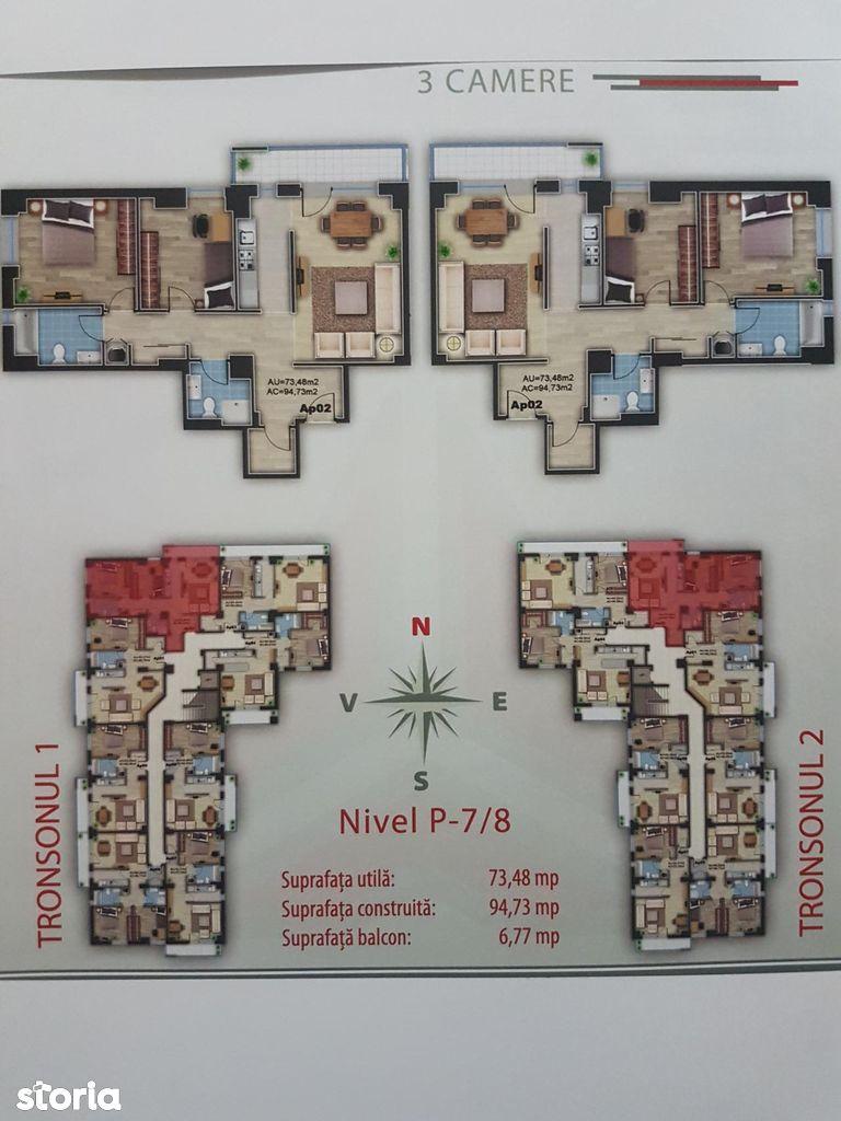 Apartament de vanzare, Bihor (judet), Nufărul - Foto 7