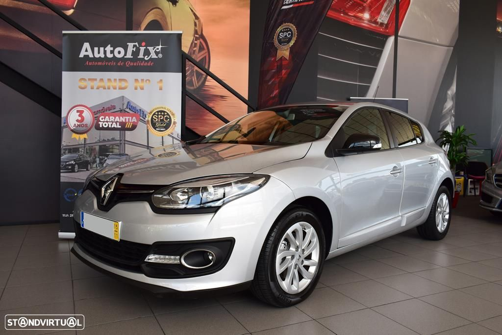 Renault Mégane 1.5 DCI LIMITED S/S - 1