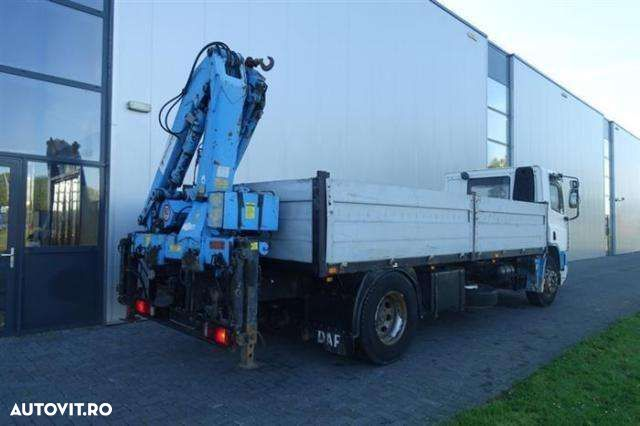 DAF CF75.270 4X2 MANUAL WITH ATLAS HLK105 - 5