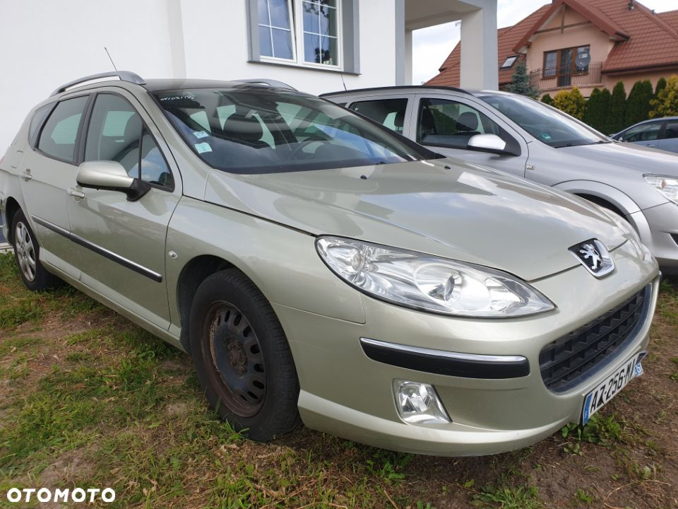 Peugeot 407 1.8 benzyna - 1
