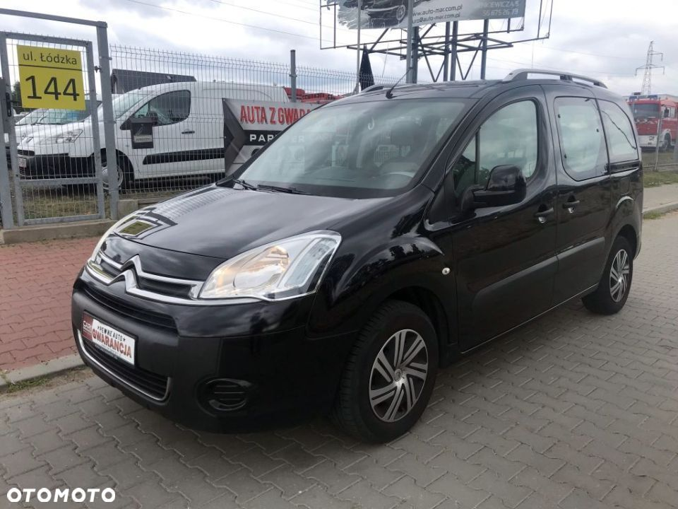 Citroën Berlingo Gwarancja! Berlingo 1.6 benz. 98KM 2012r. po liftingu Multispace Klima - 2