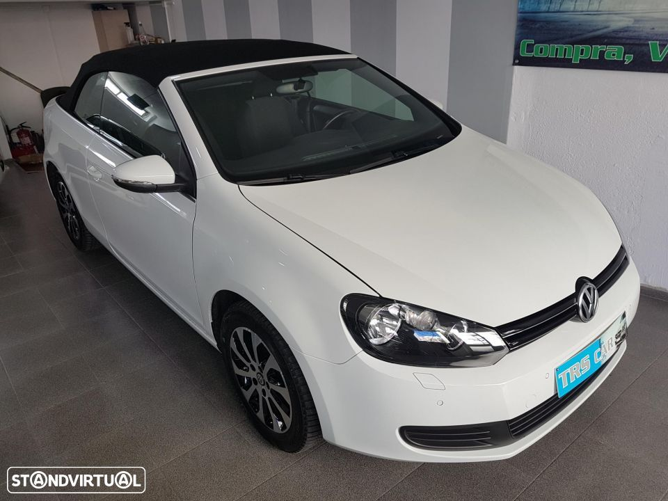 VW Golf Cabriolet 1.6 TDI Bluemotion - 2
