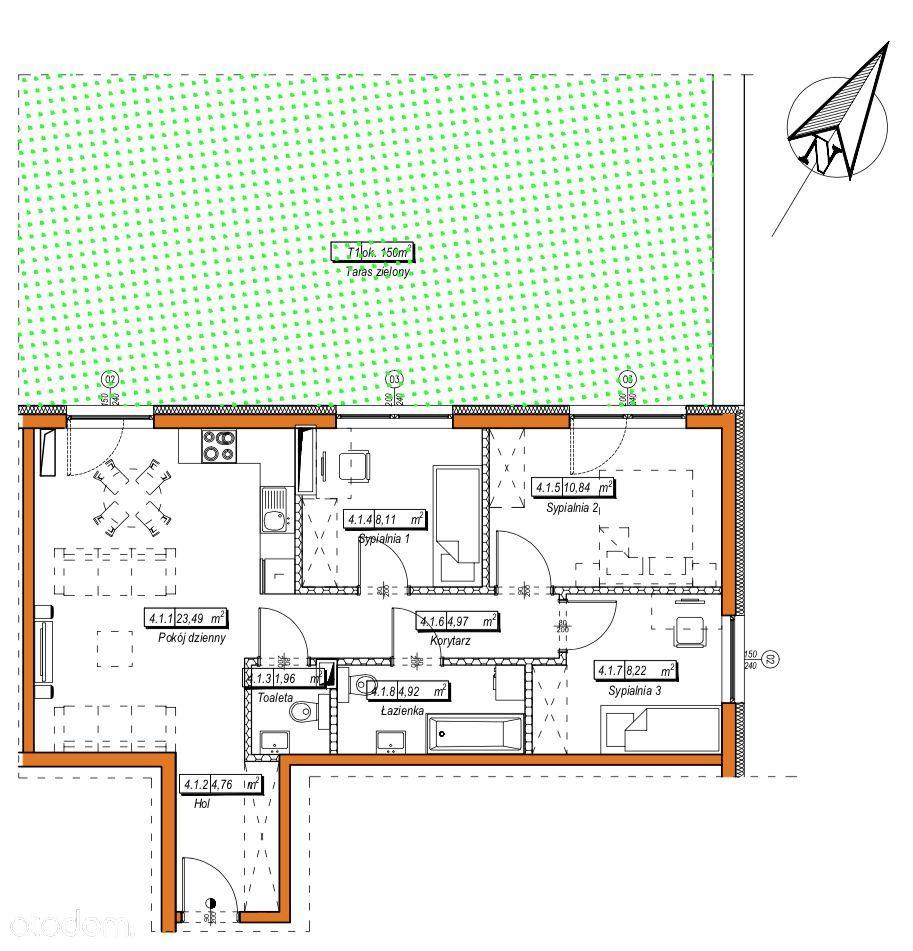 4 Pokoje Mieszkanie Na Sprzedaż Pruszków Pruszkowski Mazowieckie 59585467 Wwwotodompl