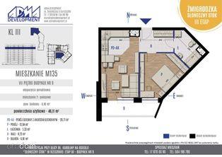 2- pokojowe mieszkanie M135