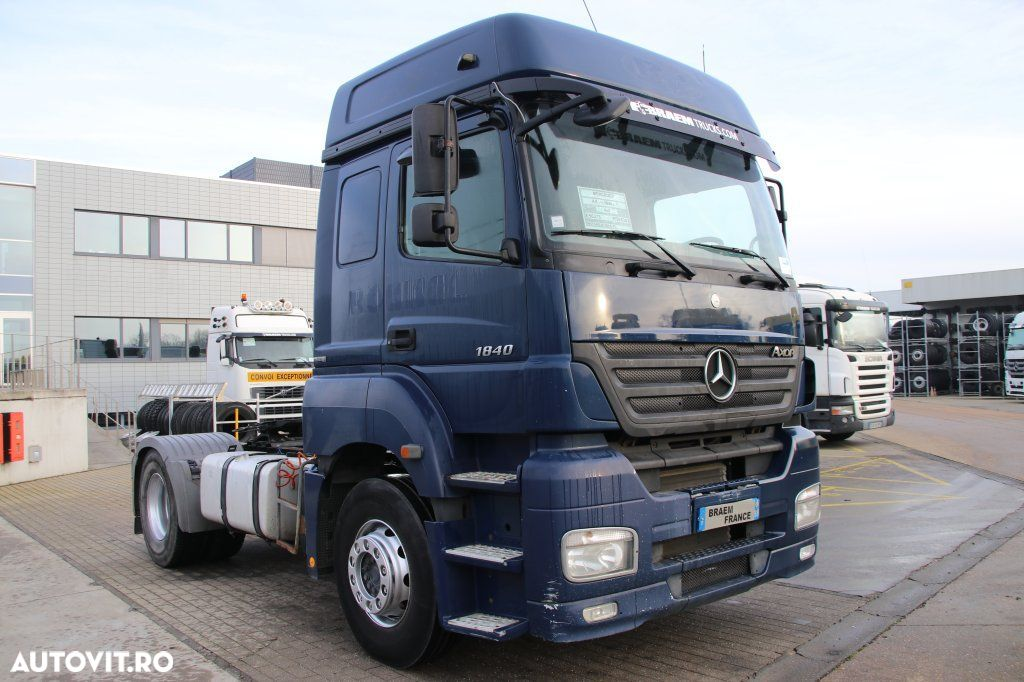 Mercedes-Benz AXOR 1840 LS + MANUAL + EURO 5 - 2