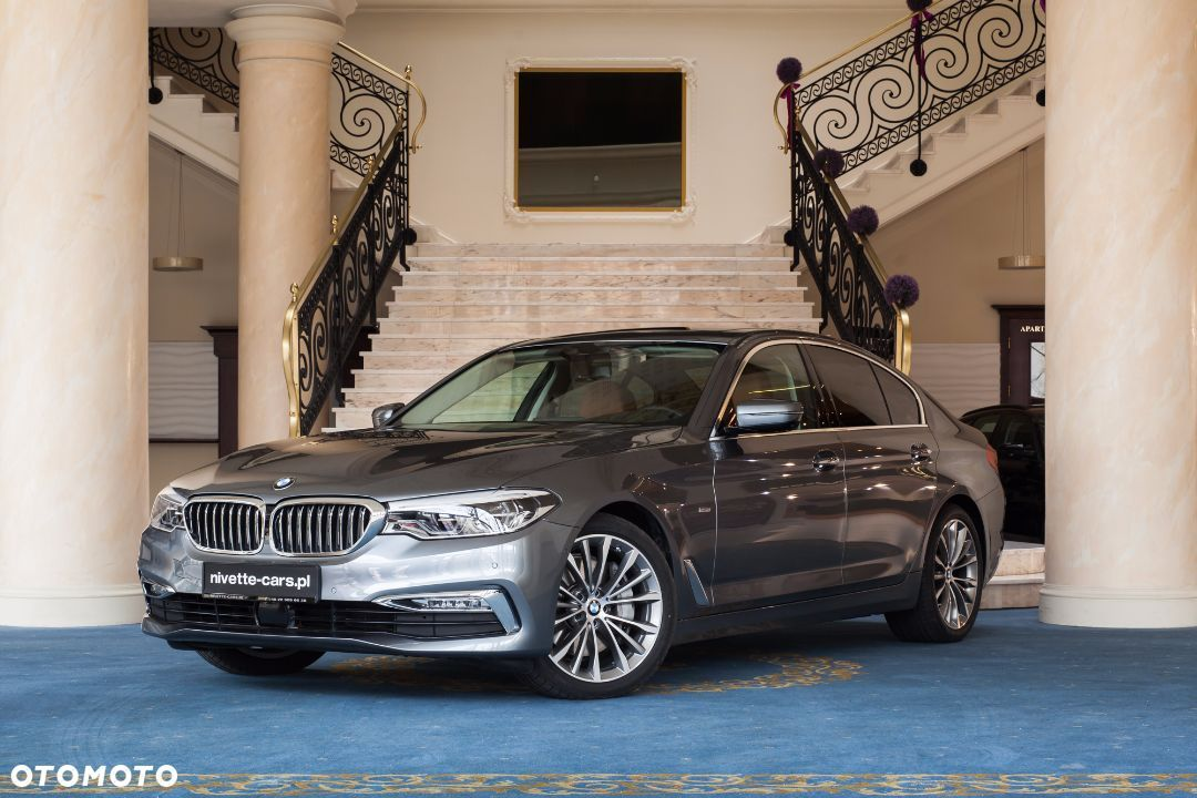 BMW Seria 5 i xDrive Luxury Line LED Masaże FV23% Nivette - 1