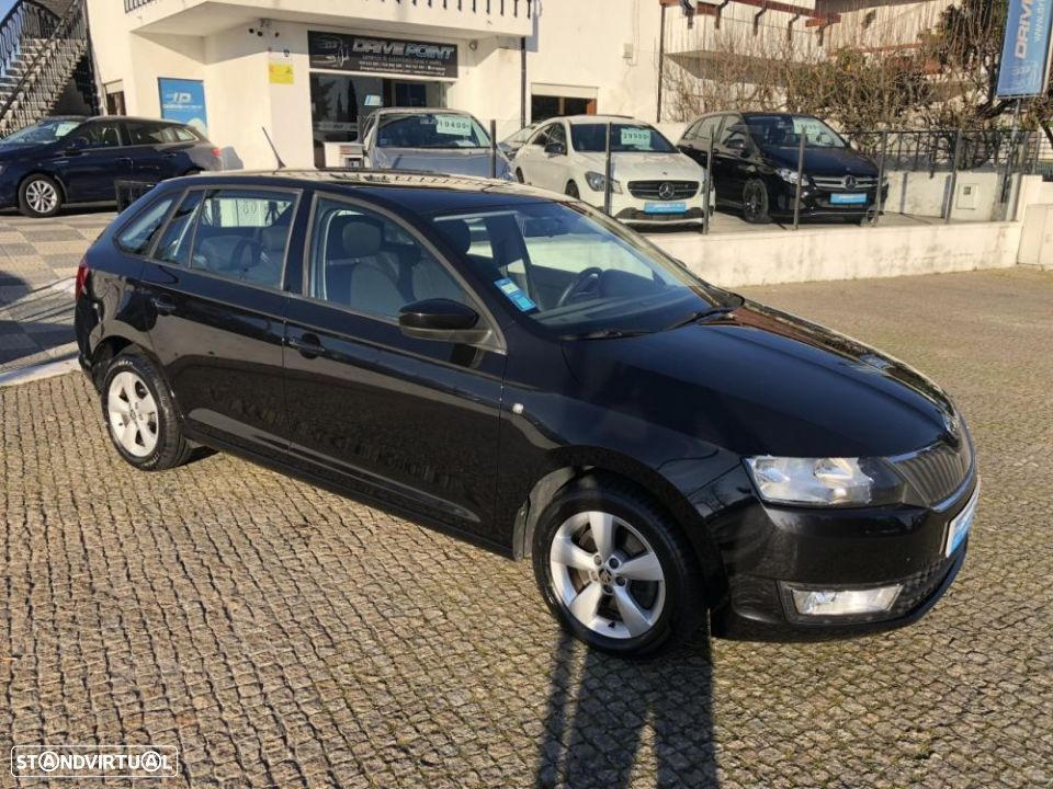 Skoda Rapid Spaceback 1.6 TDi Ambition - 6