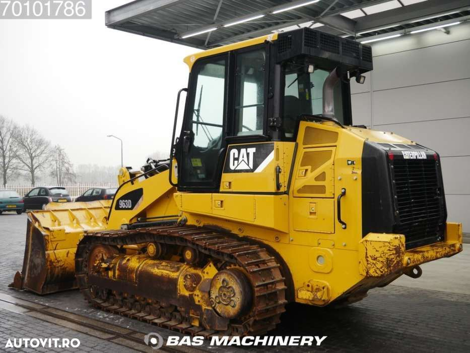 Caterpillar 963 D Nice and clean condition - ripper valve - EPA - 2