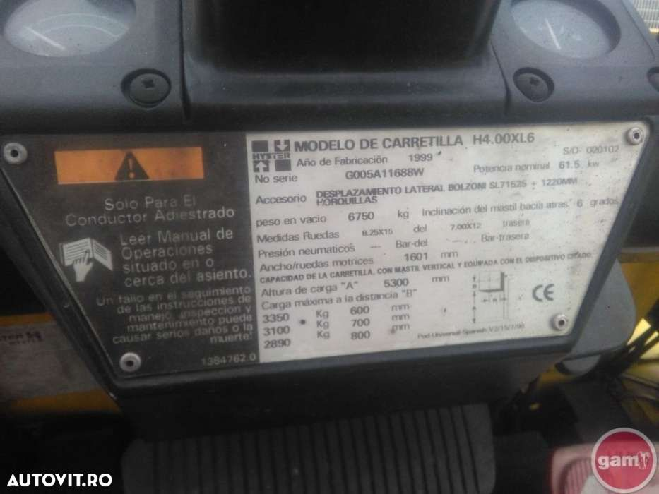 Hyster H4.00XL6 - 12