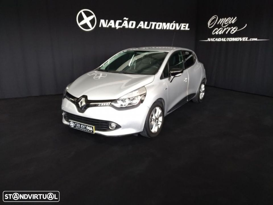 Renault Clio IV 1.5 Dci 90cv Energy 82g/km CO2 Start and Stop Limited Gps Plus 5 portas - 1