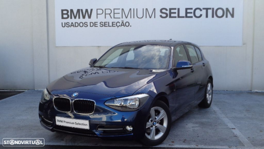 BMW 116 d EfficientDynamics Line Sport - 1