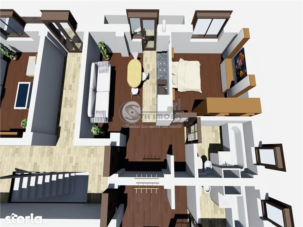Apartament de inchiriat, Iași (judet), CUG - Foto 3