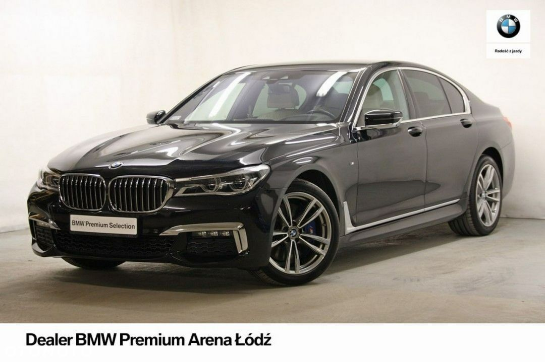 BMW Seria 7 G11 740d xDrive Mpakiet, Night Vision, Krem skóra, Salon BMW - 1