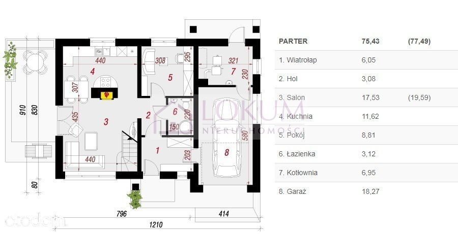 Dom na sprzedaż, Wielogóra, radomski, mazowieckie - Foto 3