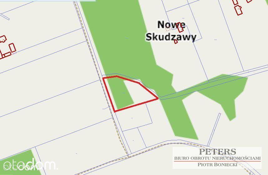Działka na sprzedaż, Nowe Skudzawy, rypiński, kujawsko-pomorskie - Foto 1