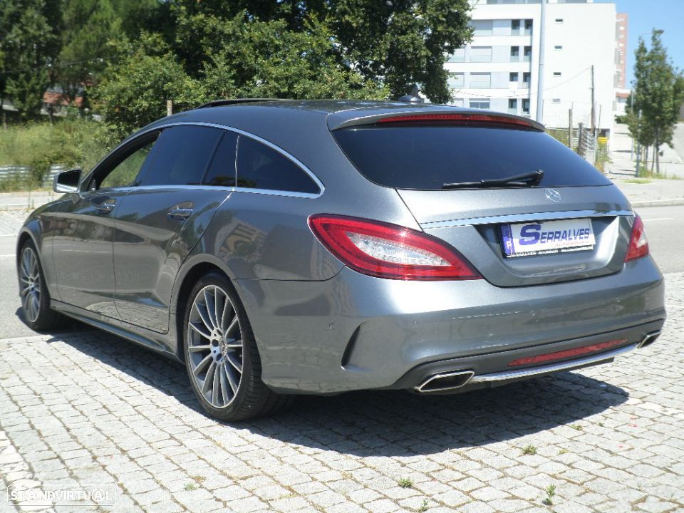 Mercedes-Benz CLS 220 d Shooting Brake AMG 9GTronic - 5