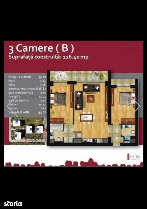 Apartament de vanzare, București (judet), Strada C. Nottara - Foto 5