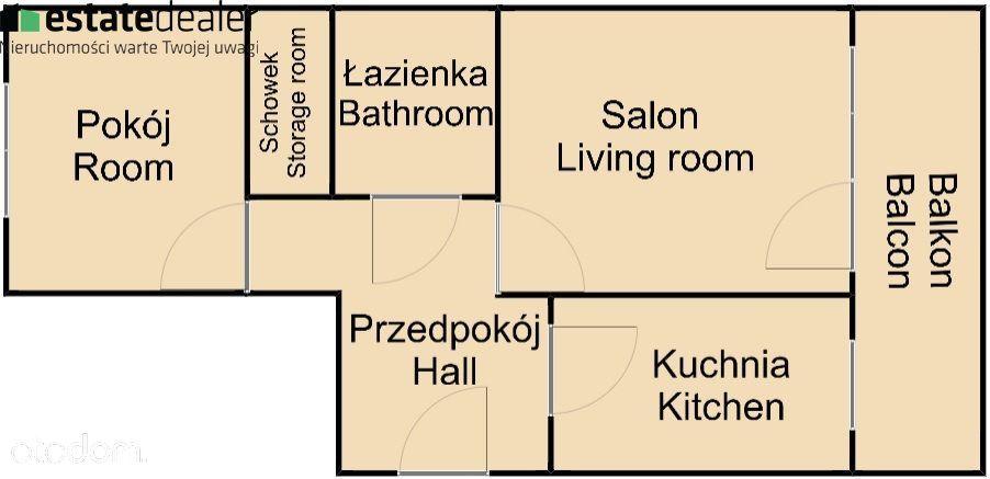 Mieszkanie na wynajem, Kraków, Krowodrza - Foto 12