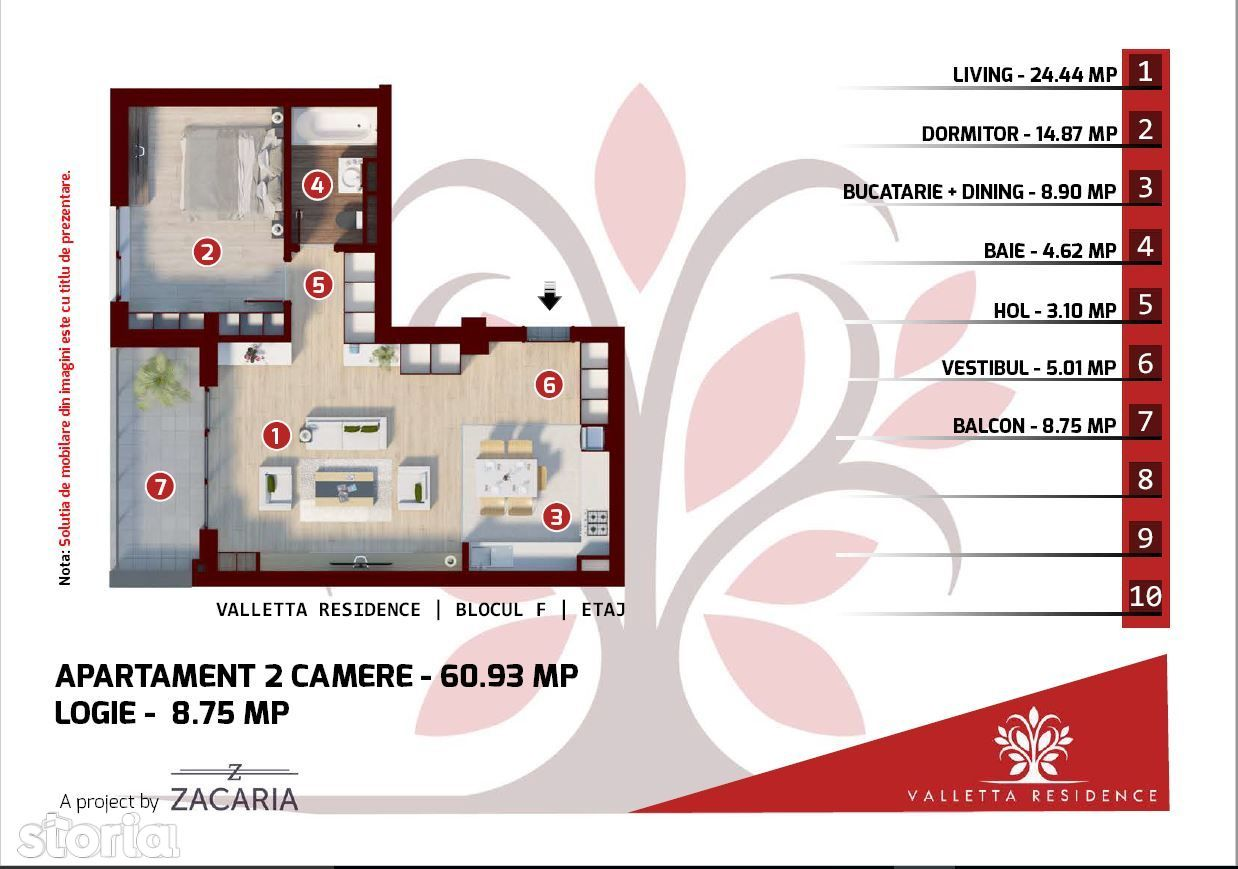 Apartament de vanzare, Bucuresti, Sectorul 1 - Foto 2