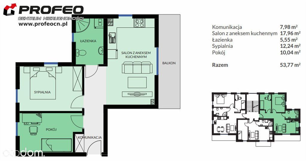 Mieszkanie na sprzedaż, Bielsko-Biała, Lipnik - Foto 4