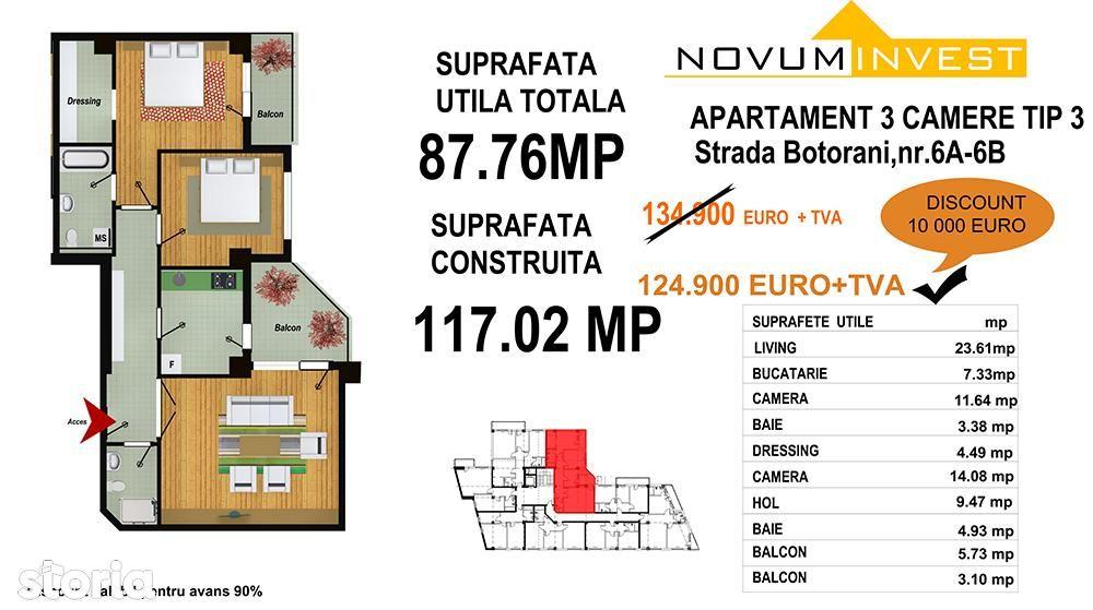 Apartament de vanzare, București (judet), Aleea Botorani - Foto 9