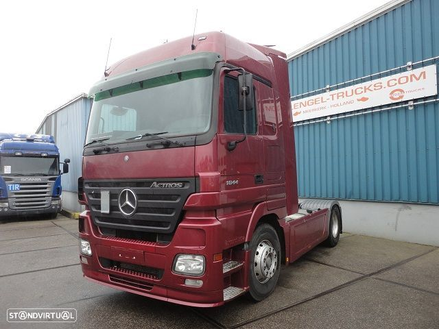 Mercedes Benz ACTROS 1844LS MEGASPACE (EPS WITH CLUTCH / AIRCONDITIONING / ETC.) - 1