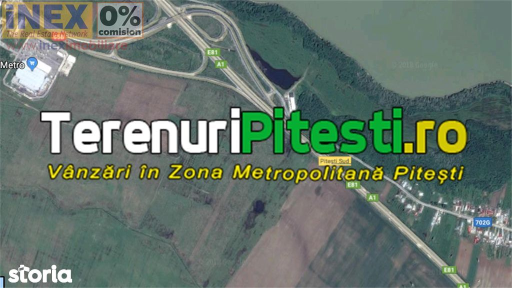 Teren de Vanzare, Argeș (judet), Piteşti - Foto 1