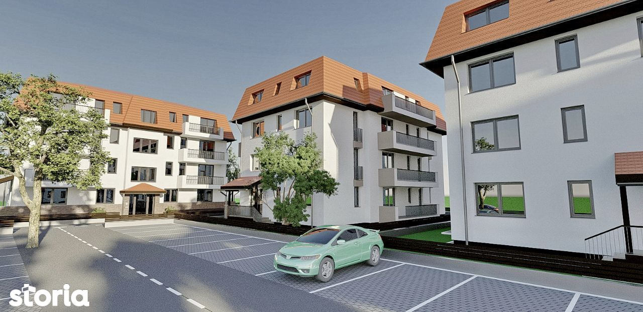 Apartament de vanzare, Brașov (judet), Sânpetru - Foto 1009