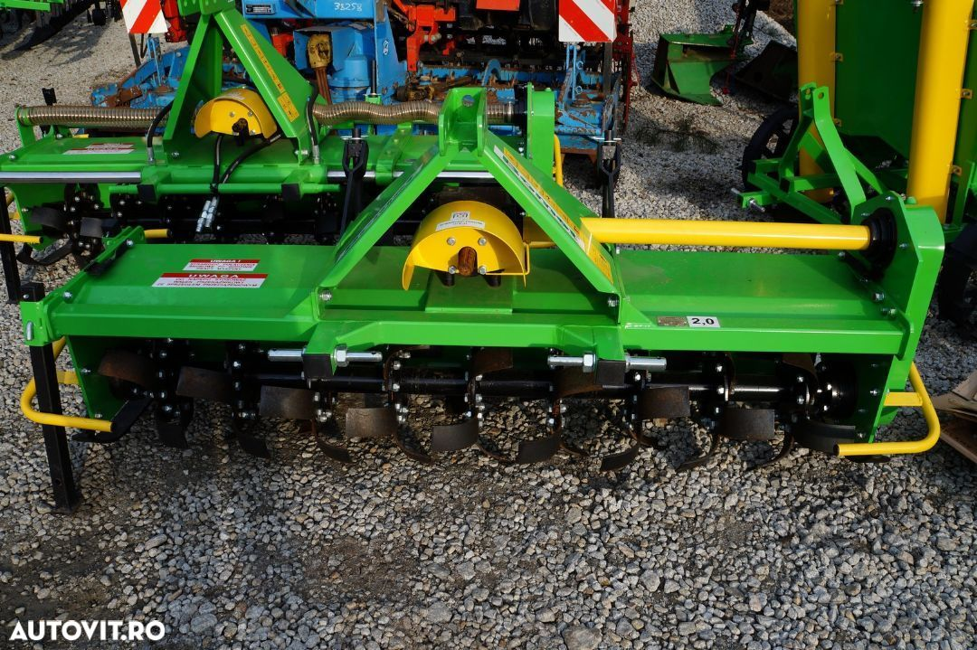 MC-Agri POWERFARM Freza, Rotavator 1,2m 1,4m 1,6m 1,8m 2m - 1