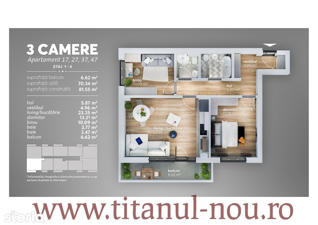 Apartament de vanzare, București (judet), Sectorul 3 - Foto 1